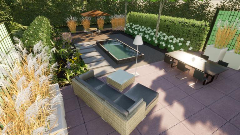 3d-Gartenplanung